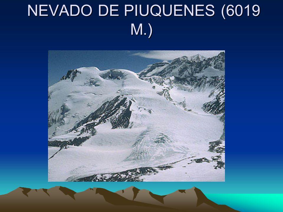 NEVADO DE PIUQUENES (6019 M.)