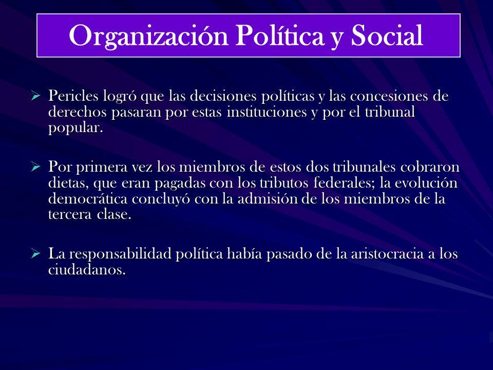 Organización Política y Social