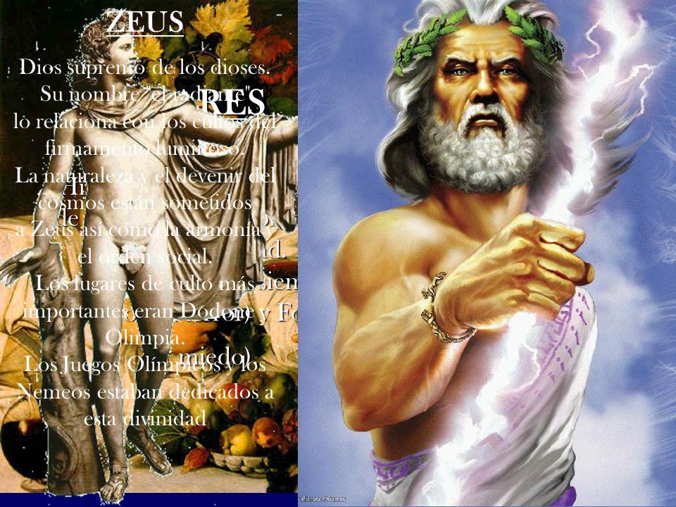 Dios griego del vino, la embriaguez nacido del muslo de Zeus.