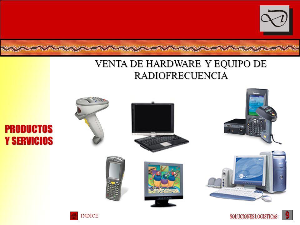 VENTA DE HARDWARE Y EQUIPO DE RADIOFRECUENCIA