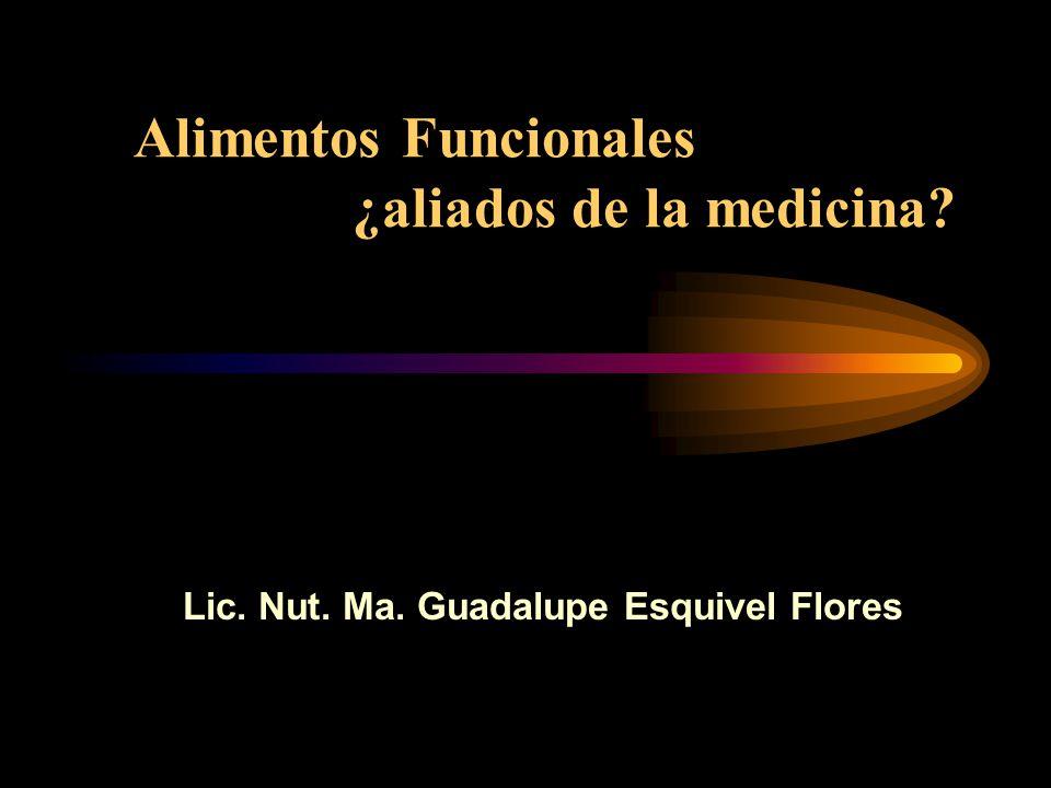 Alimentos Funcionales ¿aliados de la medicina