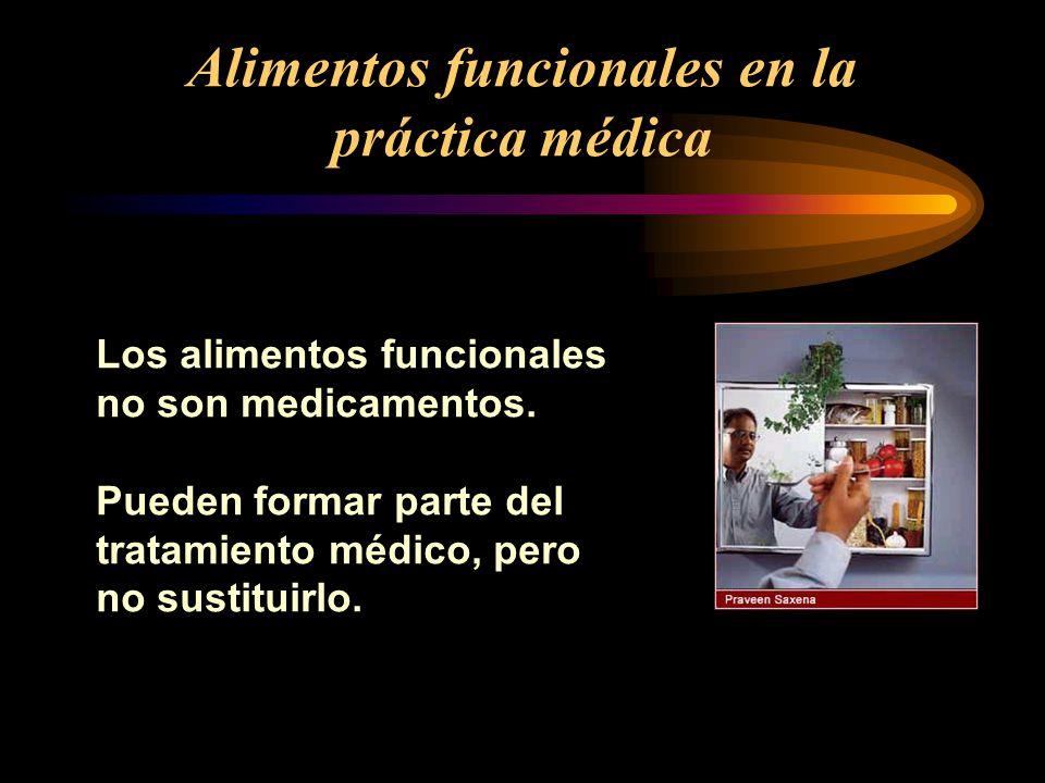 Alimentos funcionales en la práctica médica