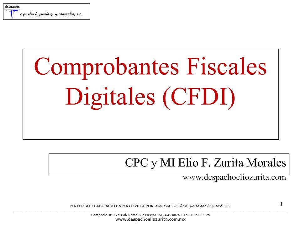 Comprobantes Fiscales Digitales (CFDI)
