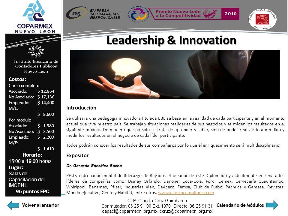 Leadership & Innovation