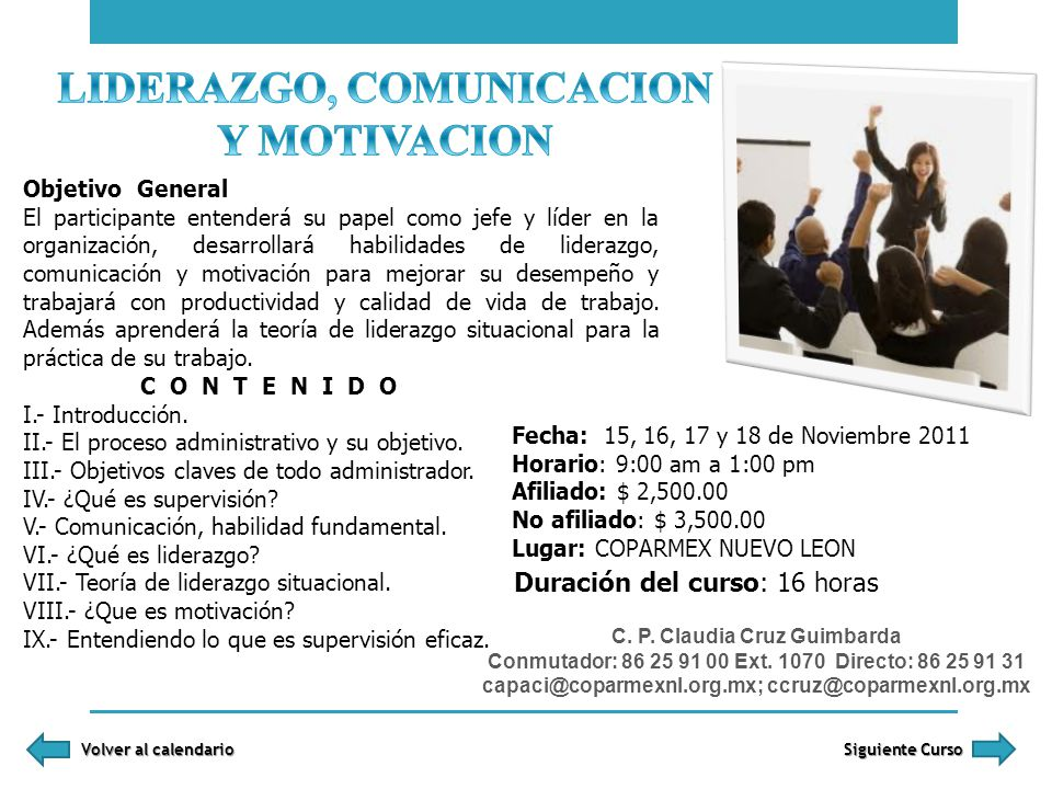 LIDERAZGO, COMUNICACION Y MOTIVACION