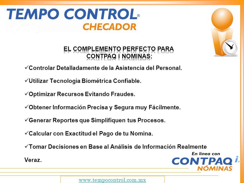 el complemento perfecto para ContPAQ i nominas: