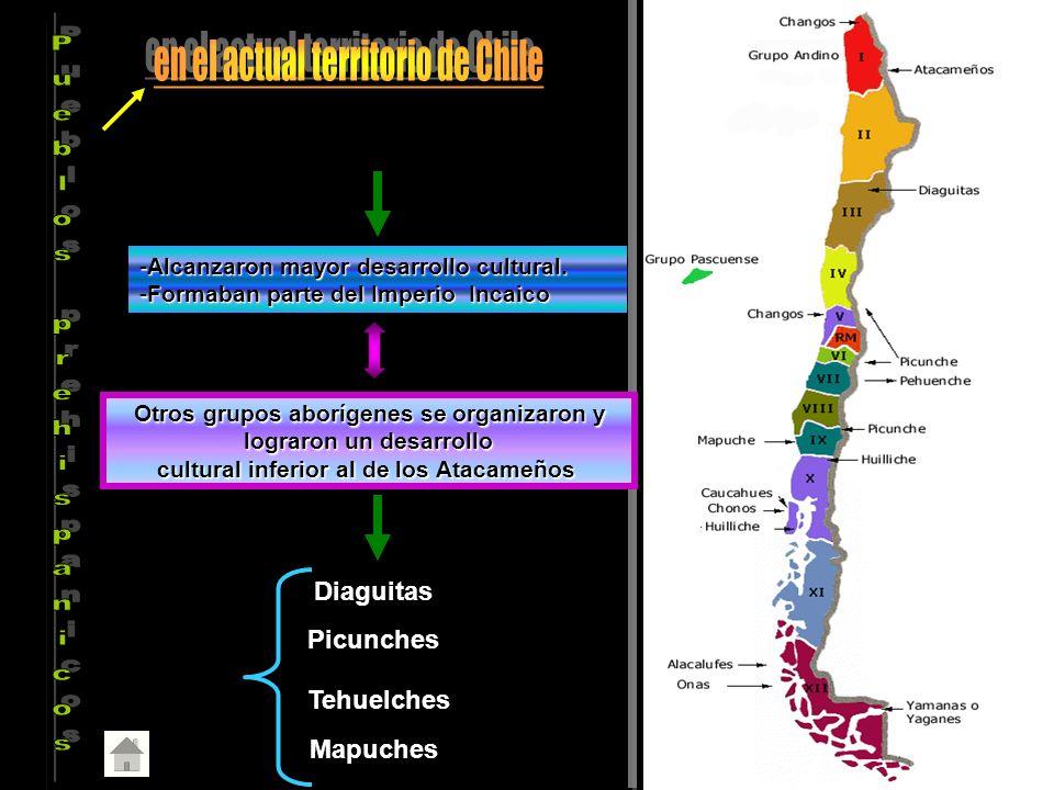 en el actual territorio de Chile