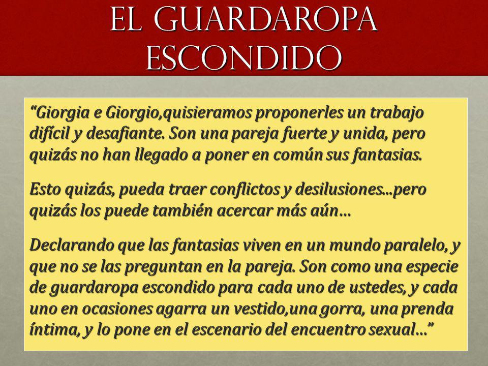 el guARDAROPA ESCONDIDO