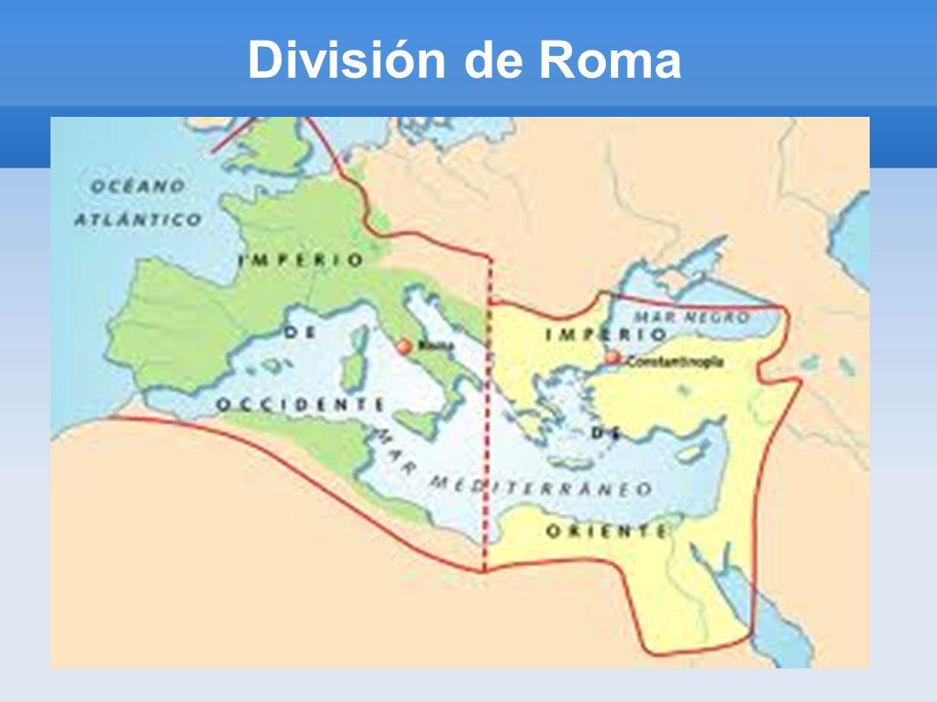 División de Roma