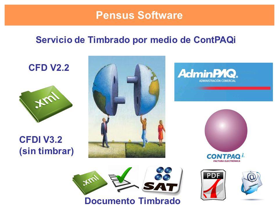 Servicio de Timbrado por medio de ContPAQi