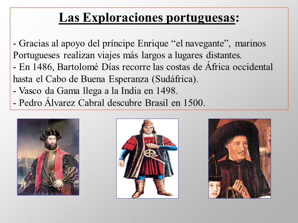 Las Exploraciones portuguesas:
