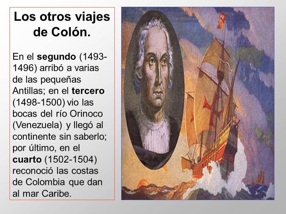 Los otros viajes de Colón.
