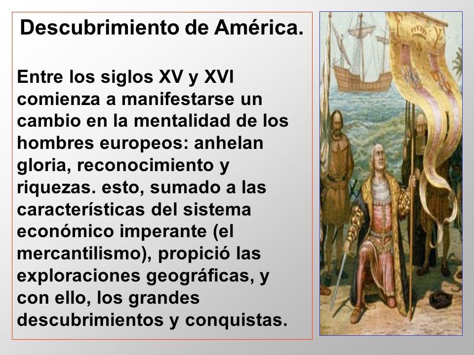 Descubrimiento de América.