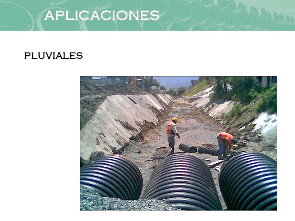aplicaciones pluviales