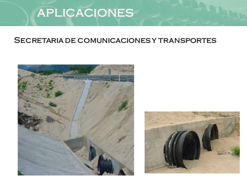 aplicaciones Secretaria de comunicaciones y transportes