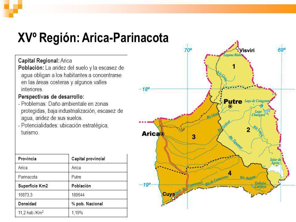 XVº Región: Arica-Parinacota