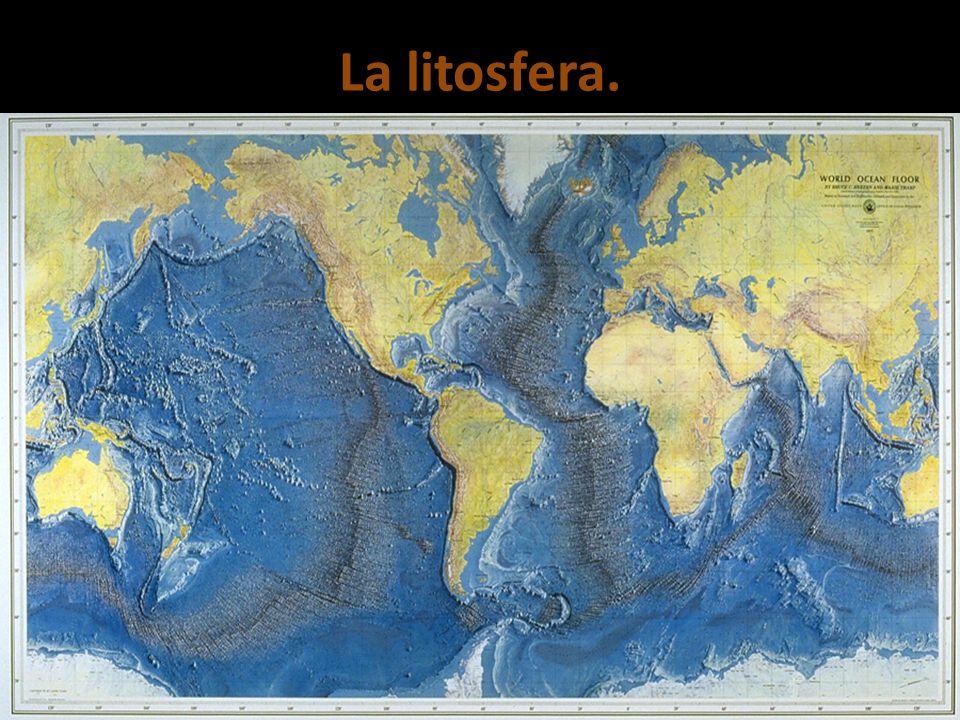 La litosfera.