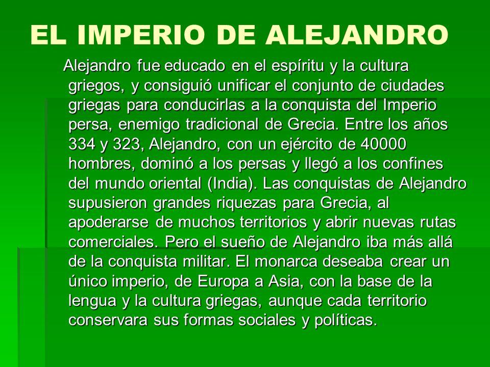 EL IMPERIO DE ALEJANDRO
