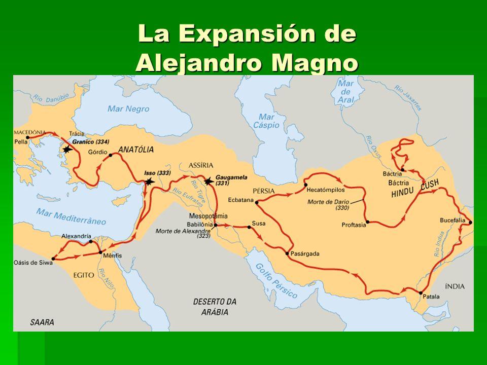 La Expansión de Alejandro Magno