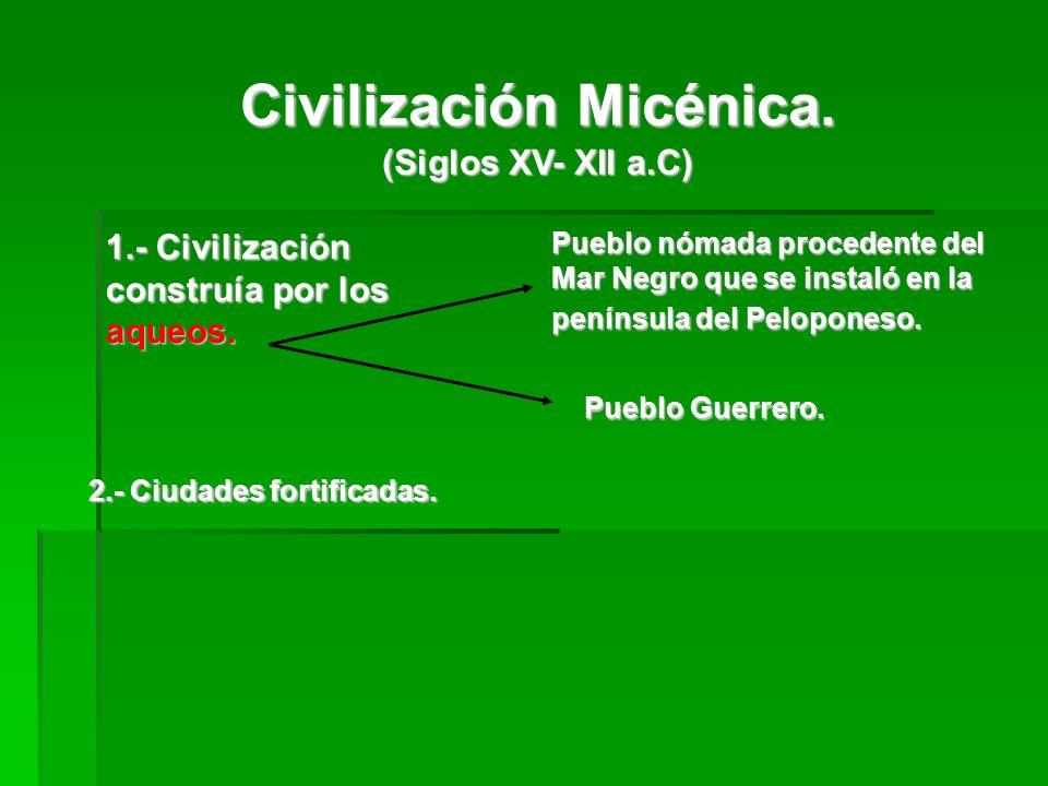 Civilización Micénica.