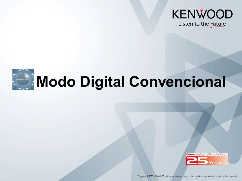 Modo Digital Convencional