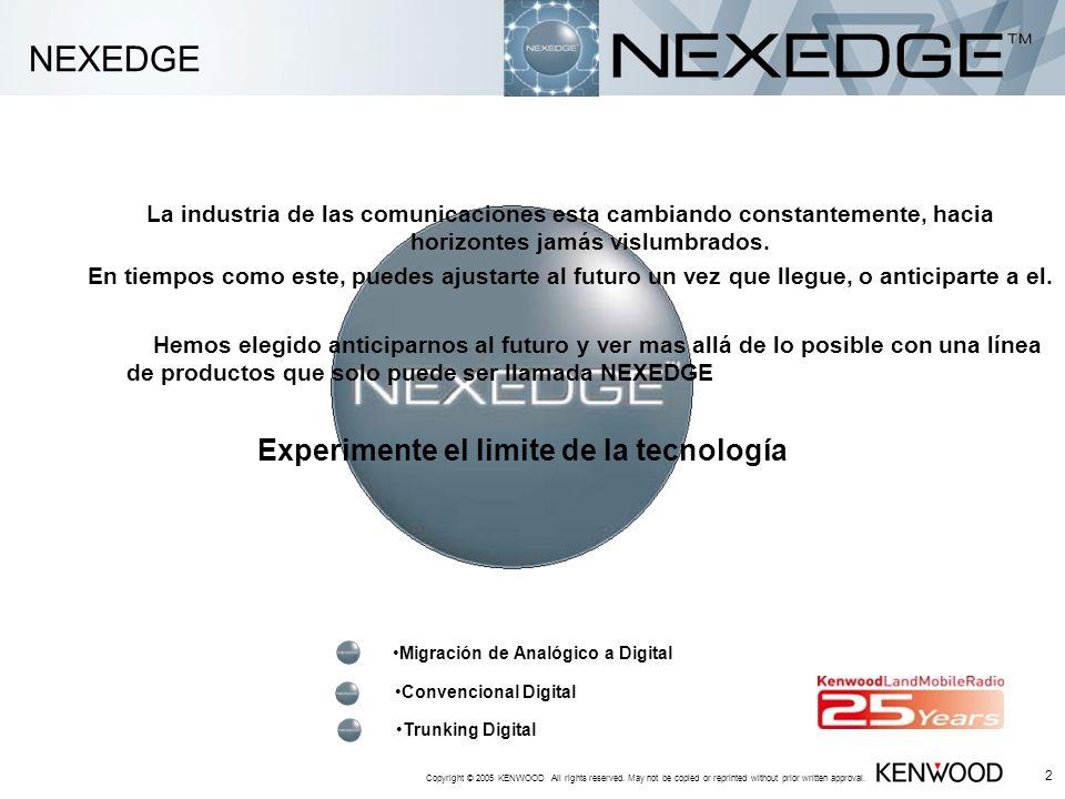 NEXEDGE Experimente el limite de la tecnología