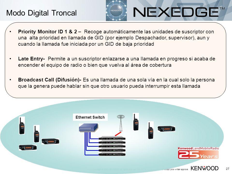 Modo Digital Troncal