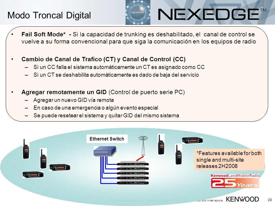 Modo Troncal Digital