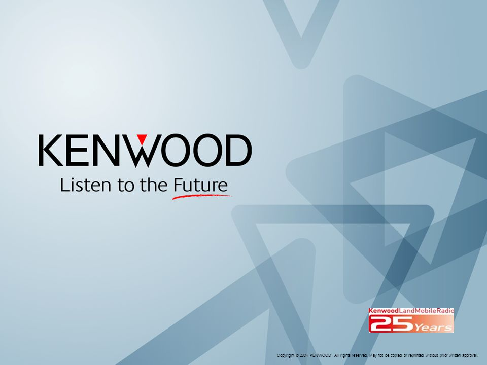 Copyright © 2005 KENWOOD All rights reserved
