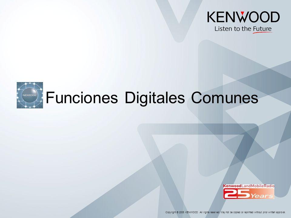 Funciones Digitales Comunes