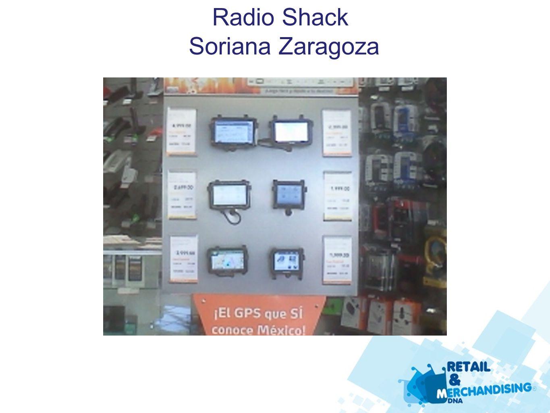Radio Shack Soriana Zaragoza