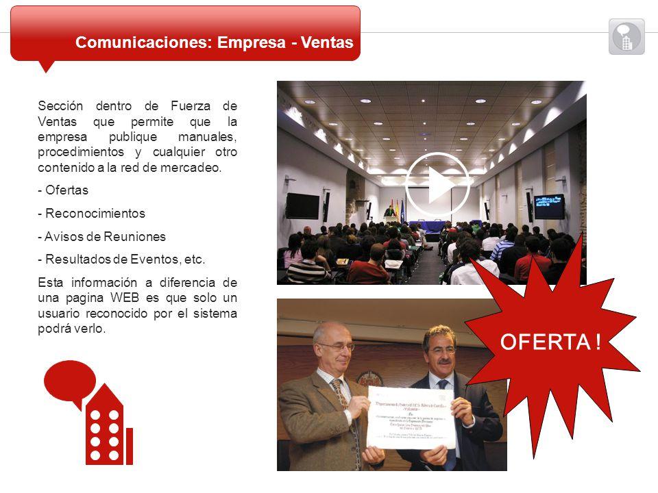 OFERTA ! Comunicaciones: Empresa - Ventas