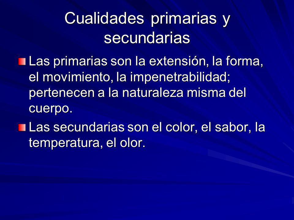Cualidades primarias y secundarias