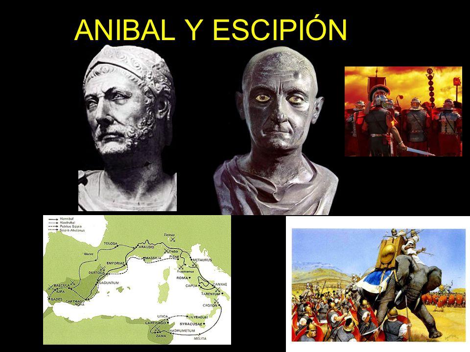 ANIBAL Y ESCIPIÓN