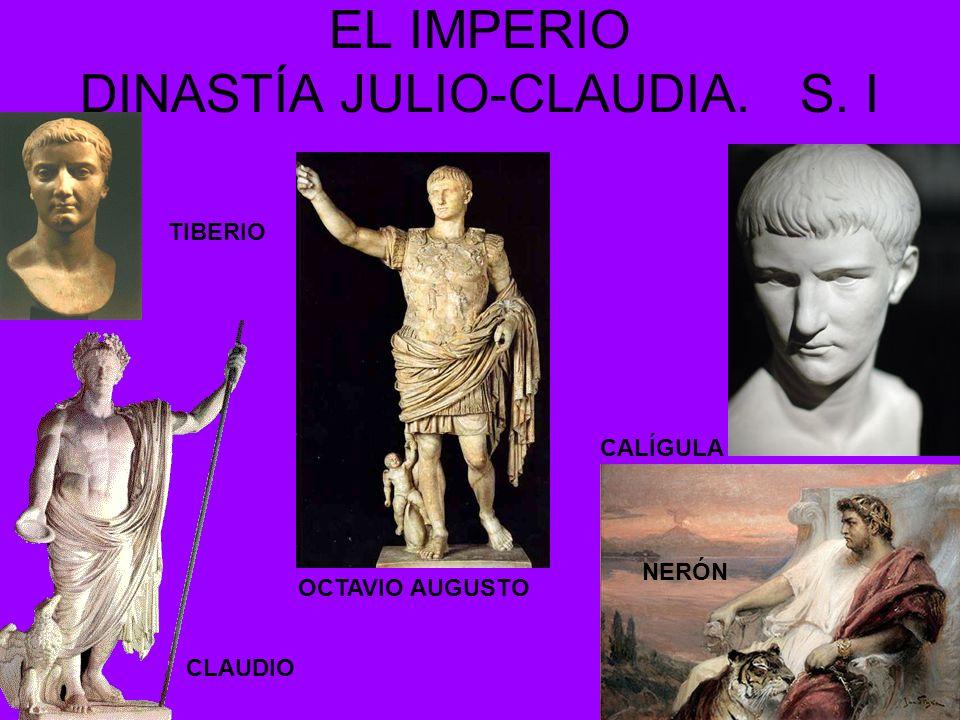 EL IMPERIO DINASTÍA JULIO-CLAUDIA. S. I