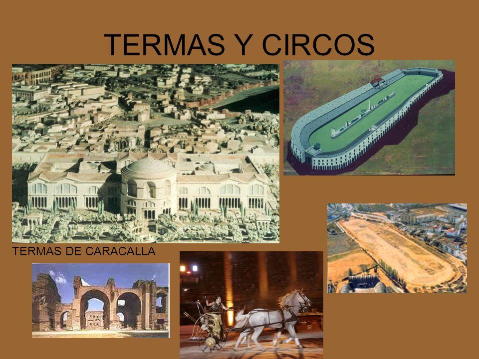 TERMAS Y CIRCOS TERMAS DE CARACALLA