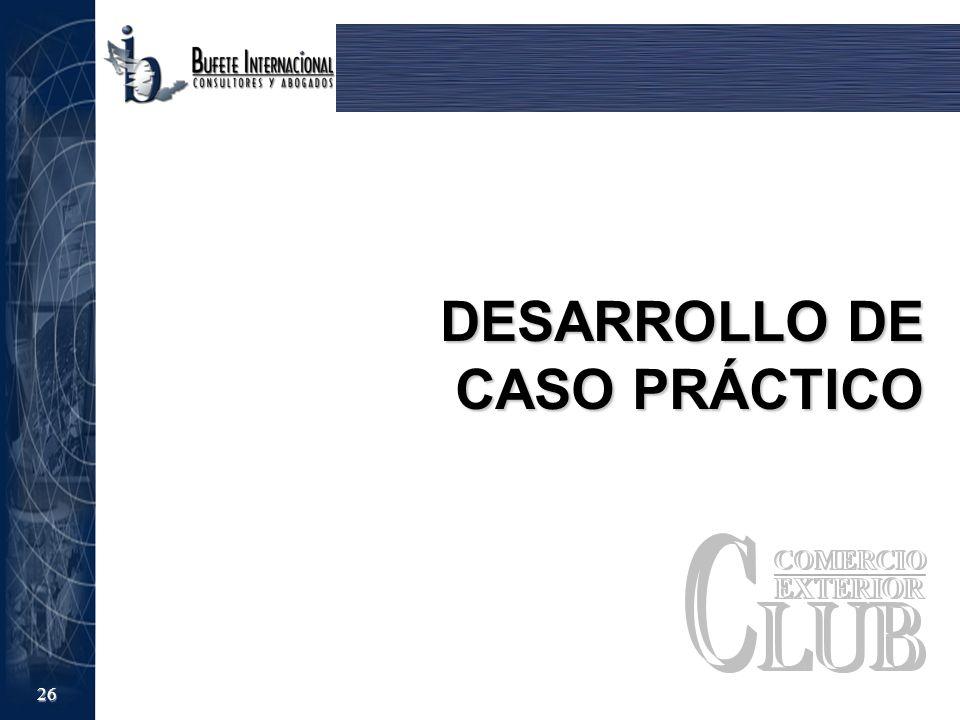 DESARROLLO DE CASO PRÁCTICO