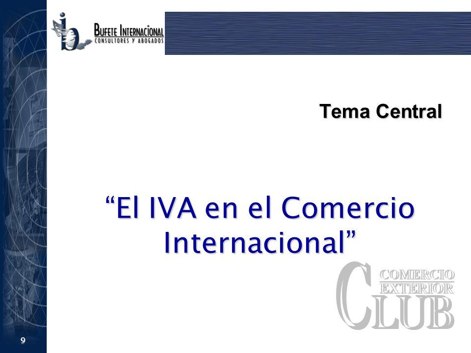 El IVA en el Comercio Internacional