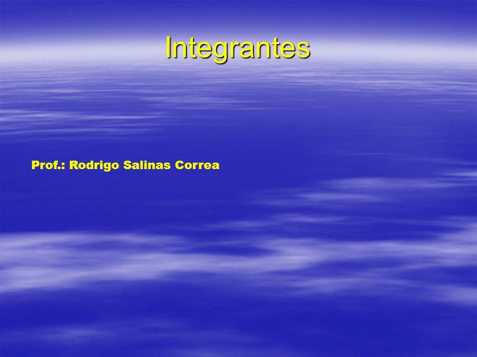 Integrantes Prof.: Rodrigo Salinas Correa