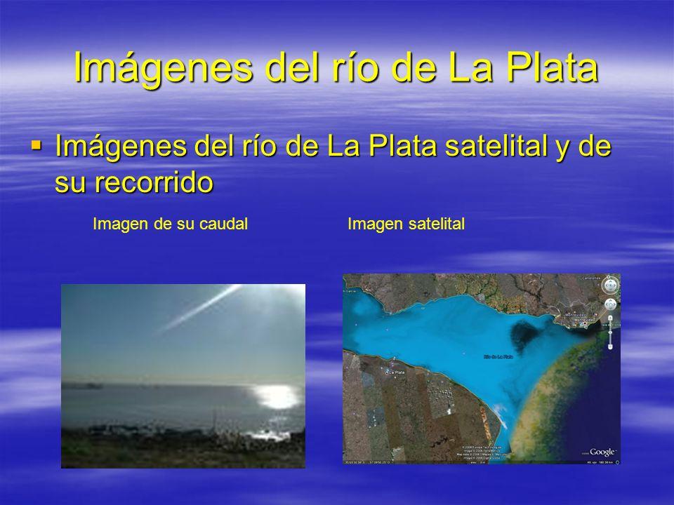 Imágenes del río de La Plata
