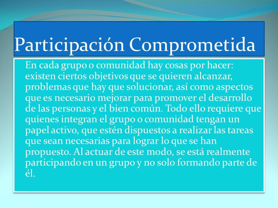 Participación Comprometida