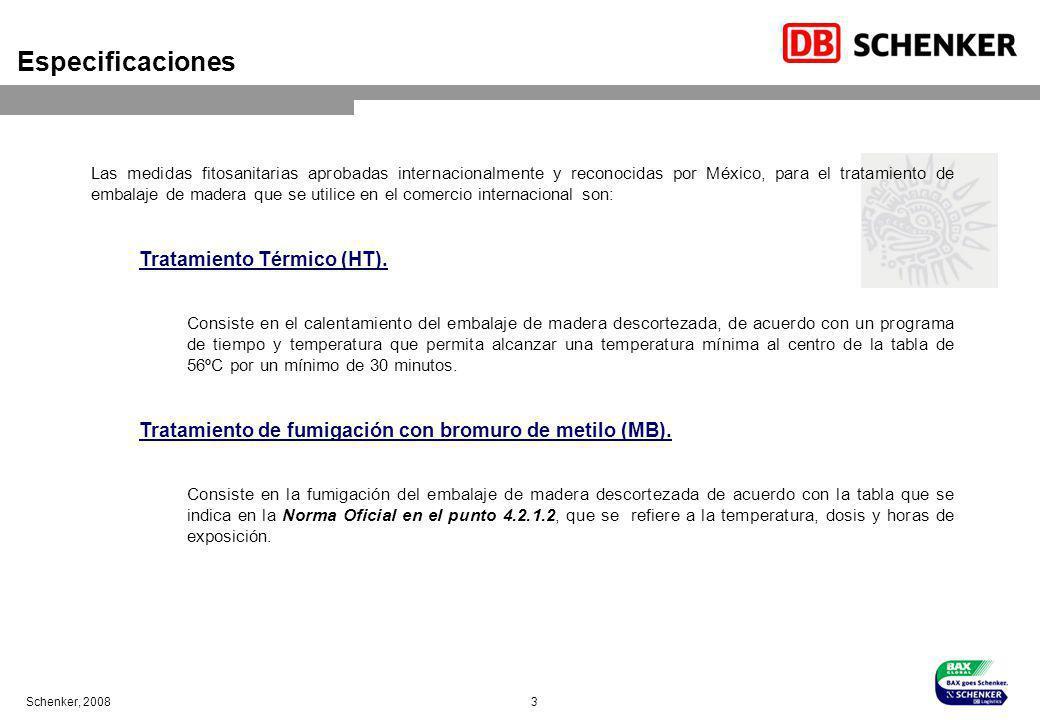 Especificaciones Tratamiento Térmico (HT).