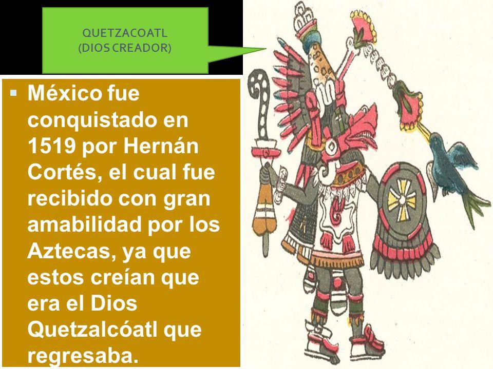 QUETZACOATL (DIOS CREADOR)