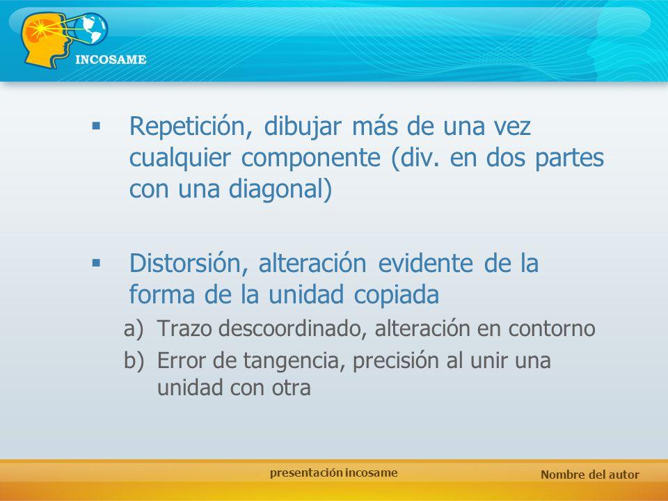 presentación incosame