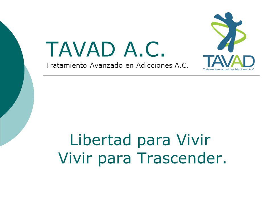 TAVAD A.C. Tratamiento Avanzado en Adicciones A.C.