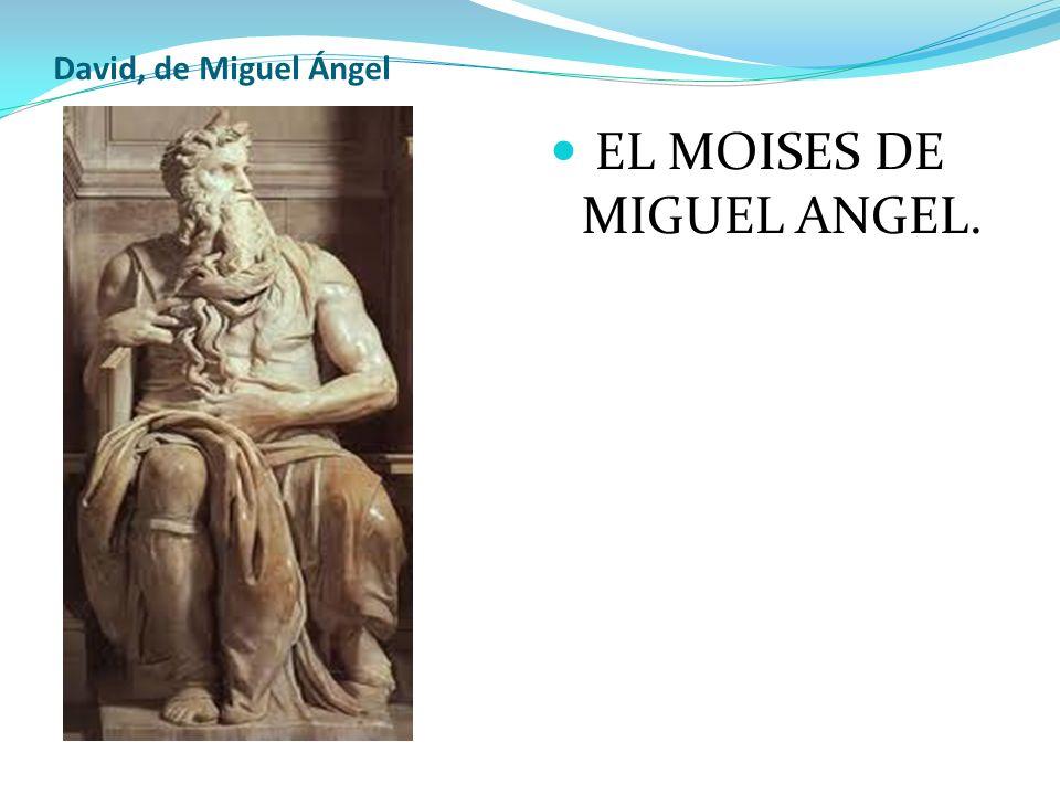 EL MOISES DE MIGUEL ANGEL.