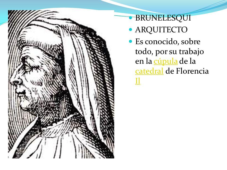 BRUNELESQUI ARQUITECTO.