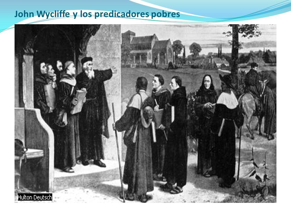 John Wycliffe y los predicadores pobres