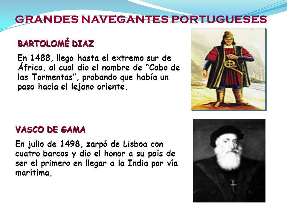 GRANDES NAVEGANTES PORTUGUESES