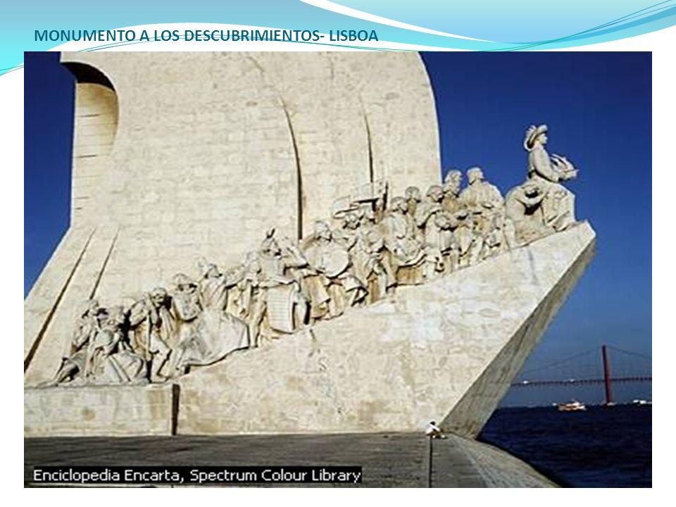 MONUMENTO A LOS DESCUBRIMIENTOS- LISBOA